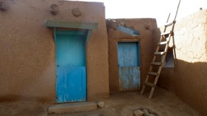 NM Taos Pueblo doors